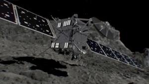 Einschlag von Rosetta: bis zum Schluss Daten und Bilder zur Erde funken