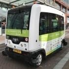 Fahrt im autonomen Bus: Im Rausch der Langsamkeit
