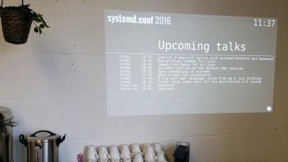 Systemd.conf im Betahaus Berlin