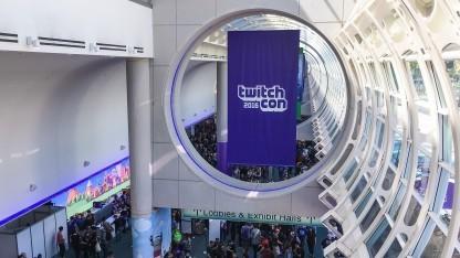 Logo der Twitchcon 2016 in San Diego