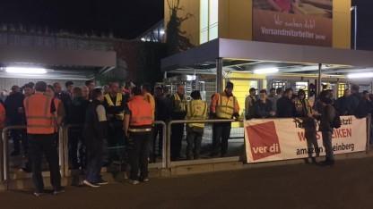Amazon-Beschäftigte im Streik