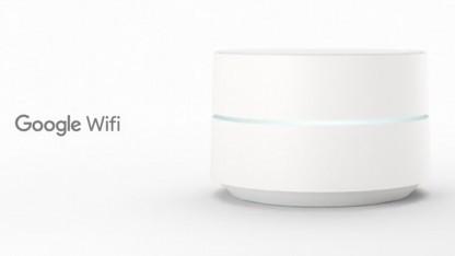 Google Wifi kann aus einem oder drei sogenannten Wifi Points bestehen.