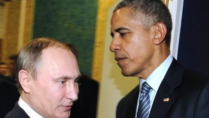 Putin und Obama - beste Freunde sieht anders aus.