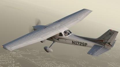 Die Cessna 172SP ist Teil von X-Plane 11.