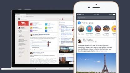 Workplace gibt es im Browser und als App.