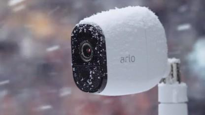 Netgear Arlo Pro kann auch im Dunkeln operieren.
