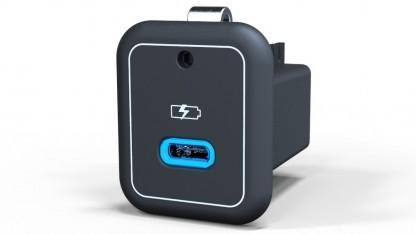 USB-C-Einsteckmodul für IFE-Systeme in Flugzeugen