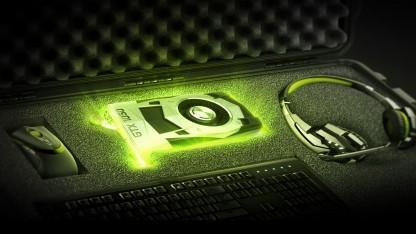 Stilisierte Geforce GTX 1050 Ti