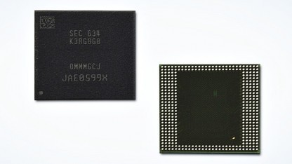 Package mit 8 GByte LPDDR4-4266