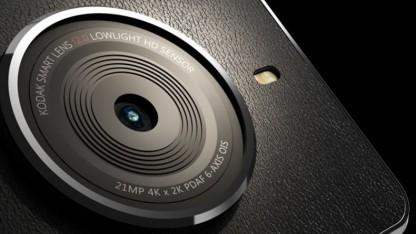 Die Kamera des Kodak Ektra