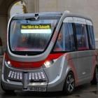 Lokaler Zubringer: Selbstfahrender Minibus in Salzburg getestet