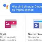 Messenger: Allos Google Assistant versteht jetzt auch Deutsch