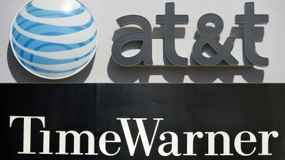 AT&T verkündet die Übernahme von Time Warner.