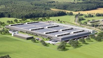 Neue Daimler-Akkufabrik in Kamenz: Kompetenzzentrum für Akku-Produktionsverbund