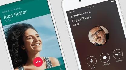 Telefonieren unter Whatsapp
