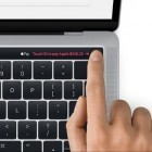 Apple: MacOS 10.12.1 zeigt Macbook Pro mit OLED-Leiste