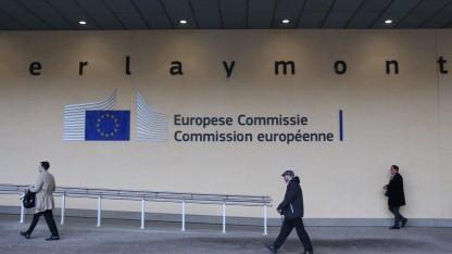 Der Sitz der EU-Kommission in Brüssel