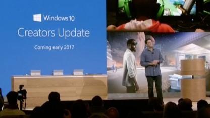 Creators Update für Windows 10 erscheint bald.