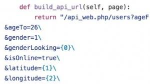 Screenshot des Test-Skripts
