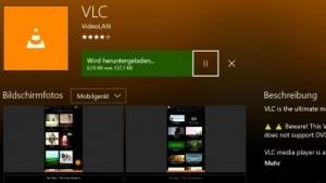 VLC ist auch für die Xbox One verfügbar.