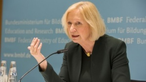 Bundesbildungsministerin Johanna Wanka (CDU)