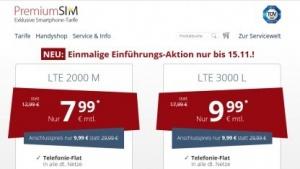 Werbung für Premiumsim