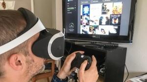 Playstation VR mit einer Xbox One im Einsatz