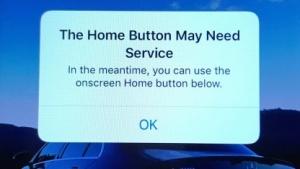 Warnhinweis von iOS 10