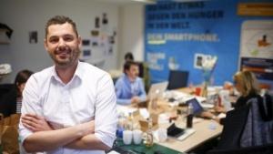 Sebastian Stricker, Gründer Share-the-Meal-App