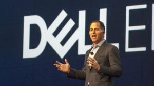 Michael Dell bei der Eröffnungskeynote der Dell EMC World