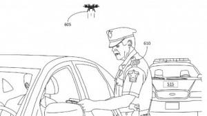 Minidrohne hilft Verkehrspolizisten.