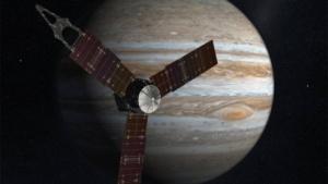 Die Jupitersonde Juno in einer künstlerischen Darstellung