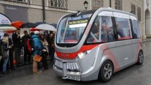 Autonomer Bus in Salzburg