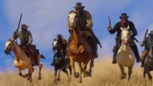 Cowboys in Red Dead Redemption 2