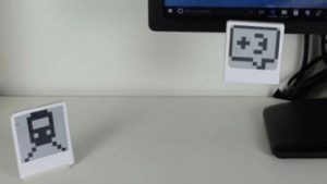 Energie-neutrales E-Paper-Display: Marker für Augmented-Reality-Anwendungen