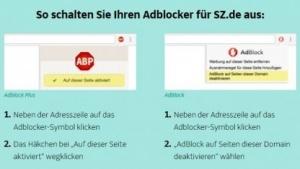 Auch die Süddeutsche Zeitung verliert ihre Klage gegen die Eyeo GmbH.
