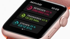 Die Apple Watch Series 2 kann GPS-Daten selbst aufzeichnen.