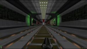 Szene aus Foursite 4-in-1, einer riesigen Doom-2-Map