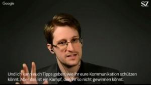 Edward Snowden hat keine guten Nachrichten für Journalisten.