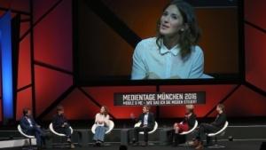 Das Panel auf den Medientagen München