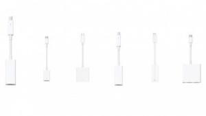 Einige Adapter für das neue Macbook Pro