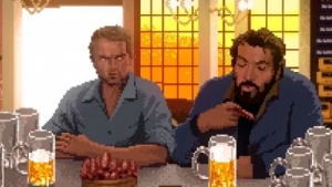 Slaps and Beans mit Terence Hill und Bud Spencer