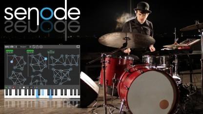 Senode verschmilzt Schlagzeug und Synthesizer.