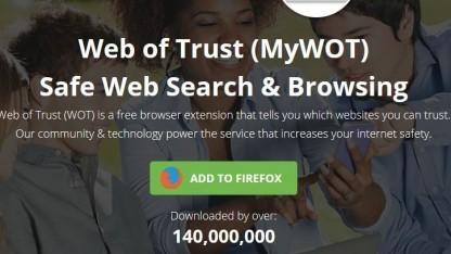 Die Browser-Erweiterung WOT gibt den Webverlauf von Nutzern ungekürzt an Big-Data-Analysten weiter.
