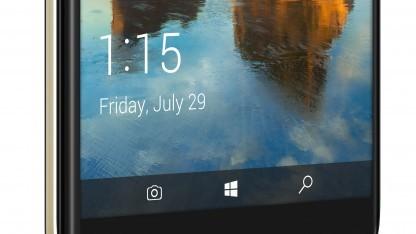 Das Idol 4S mit Windows 10