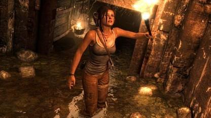 Lara Croft in Tomb Raider (das von 2013)