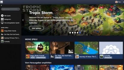 Gameroom von Facebook erinnert dezent an Steam.