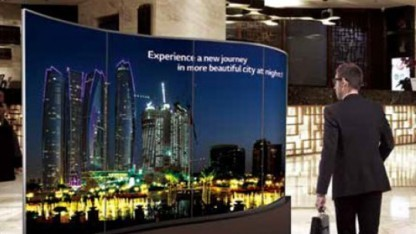 LG beginnt mit der Vermarktung von OLED-Signage im November 2016.