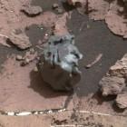 Meteorit: Curiosity beschießt außermarsisches Objekt