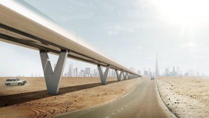 Hyperloop One: mit dem Hyperloop zum Burj Khalifa